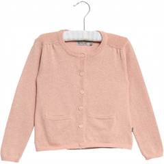 WHEAT CARDIGAN IBI MISTY ROSE