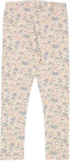 Jersey Leggings - flowers and seashells