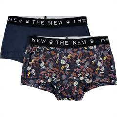 The New hipsters / underbukser 2-pak - violet/navy ♡ øko