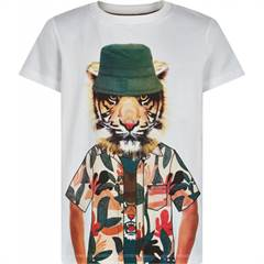 The New T-shirt - hvid/tiger/sommer