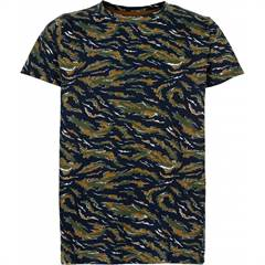 The New T-shirt - navy/army