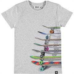 MOLO TSHIRT Raven Stacked skateboards
