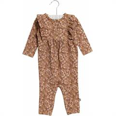Wheat Jumpsuit Kira carmel flowers