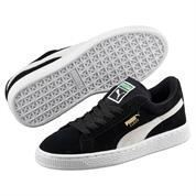 PUMA SUEDE BLACK WHITE 355110