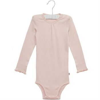 WHEAT BODY RIB SOFT ROSE  BODY