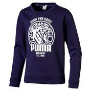 PUMA BLUSE ALPHA GRAPHIC  LANG