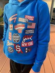 TOMMY HILFIGER HOODY APPLICATION