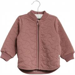 "Wheat termojakke ""Loui"" i mild blomme style no. A22 7401b-993 Color: 2378 plum"