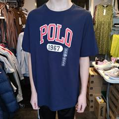RALPH LAUREN ICON TEE NAVY T-S