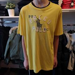 RALPH LAUREN TEE TOP YELLOW