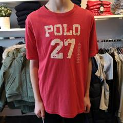 RALPH LAUREN SS SUNRISE RED