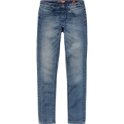 VIGNIO BABE Mid Blue JEANS