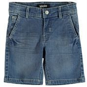 MOLO ASSER BLUE DENIM SHORTS