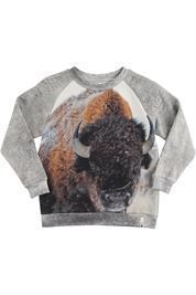 POPUPSHOP BASIC SWEAT BISON AW