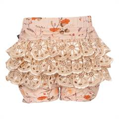 LITTLE WONDERS SHORTS Fall Forrest Ella bloomers med blonde numse