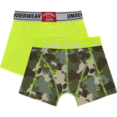 VINGINO drenge UNDERBUKSER INTERNATIONAL 2pak multicolor green