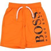 HUGO BOSS BADE SHORTS ORANGE