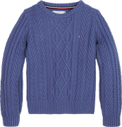 TOMMY HILFIGER STRIK CABLE SWEATER