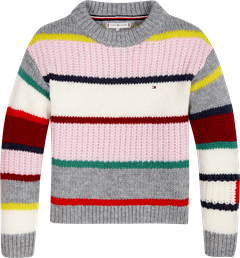 TOMMY HILFIGER BOLD STRIPE SWEATER