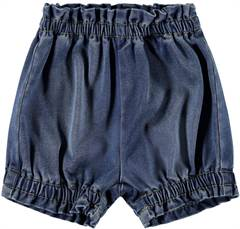 Lil' Atelier bloomers / shorts i blå denim