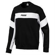 PUMA REBEL CREW SWEAT BOY BLAC