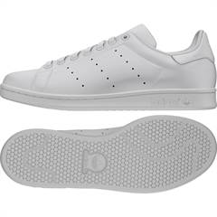 "Adidas ""Stan Smith"" sneakers i klassisk hvid"
