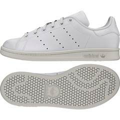 Adidas Stan Smith sneakers i hvid synt. læder