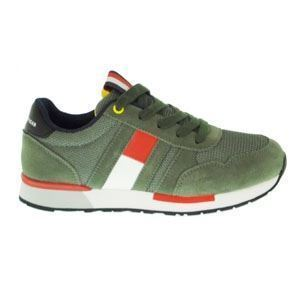 TOMMY HILFIGER GREEN LACE-UP S
