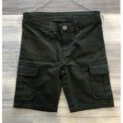 The New shorts med cargo lommer i armygrøn - str. 98-164