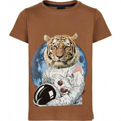 The New T-shirt - tiger/brun