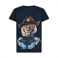 The New T-shirt - navy/tiger/sherif