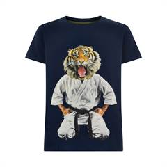 The New T-shirt - tiger/navy