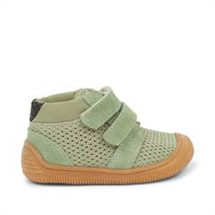"Woden sneakers ""Tristan Pearl Dusty Olive"" - oliven"